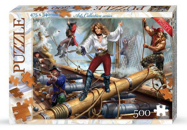 Пазлы DankoToys 500 эл. DT C500-07-12 475*340 Art Collection series