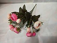 Букет роз шебби шик  шампань - розовый.