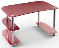 Стол стеклянный офисный С-4 (Эскадо/Escado) 1350х800х760мм
