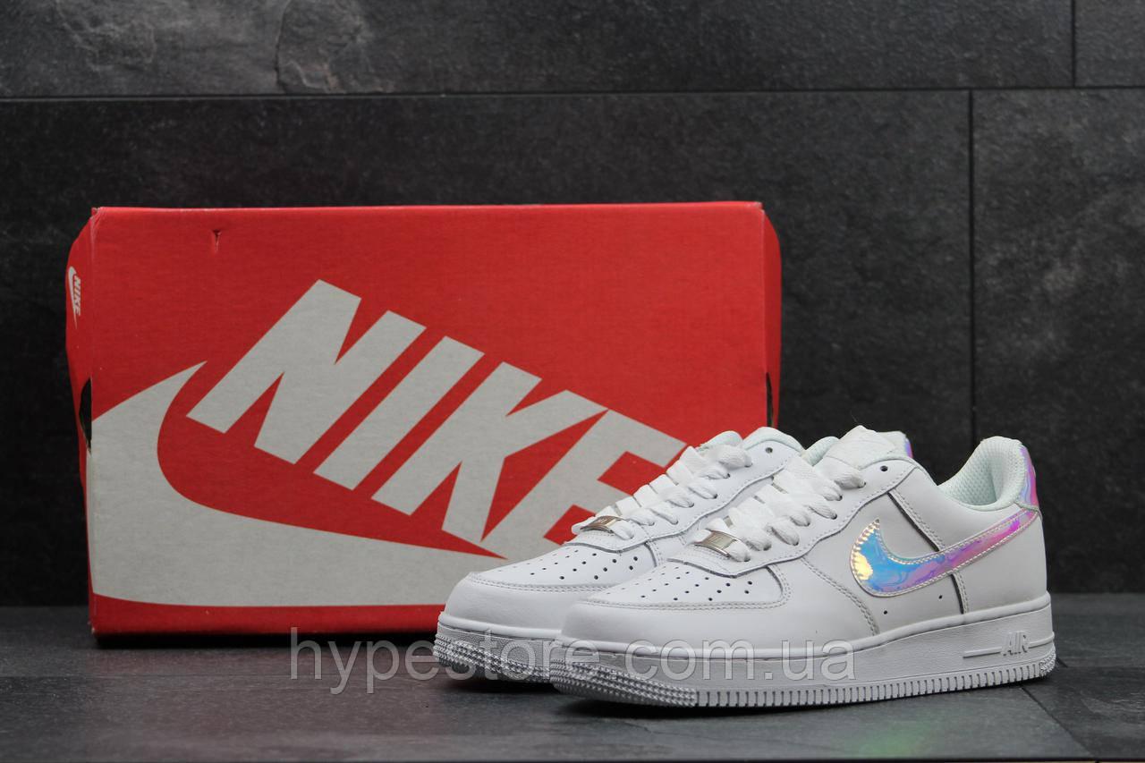 Женские кроссовки Nike Air Force 1 (серебро) 8dfdda565074d