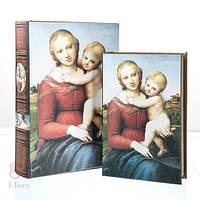 "Книга-шкатулка ""Младенец"" (30*21*7 см)"