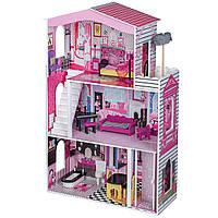 Домик для кукол с лифтом Майами Ecotoys