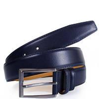 Мужской кожаный ремень y.s.k. shi1016-9 синий (Турция)