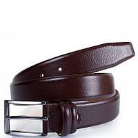 Мужской кожаный ремень y.s.k. shi1006-2 коричневый