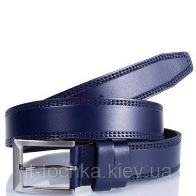 Ремень мужской кожаный y.s.k. shi3000-9-1 синий