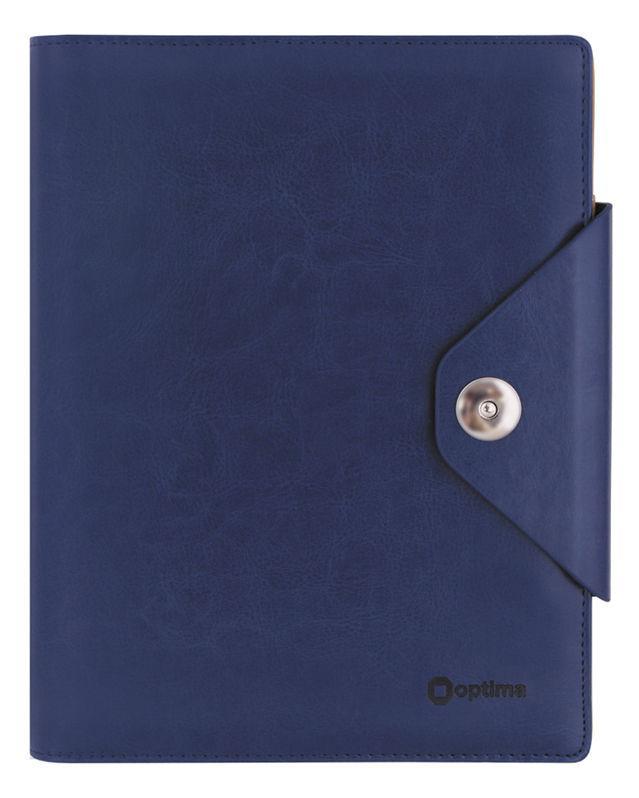 Органайзер со сменным блоком 135*185 OPTIMA Cabinet на кнопке, синий O27133