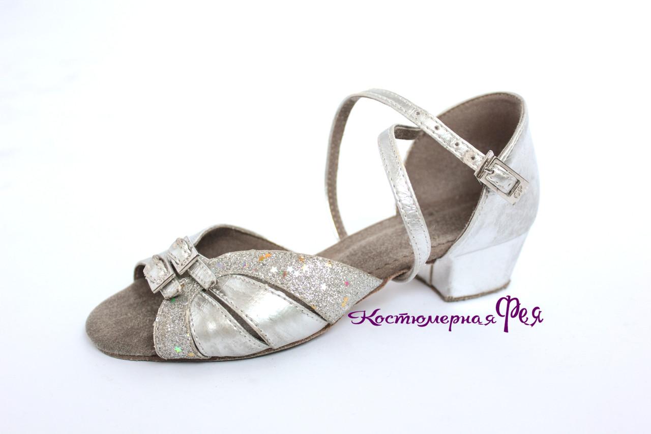 Танцевальные босоножки Латина для девочки (артикул № 33)
