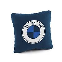 Подушка с лого BMW флок
