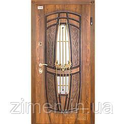 Дверь входная Gracia № 209 КС с ковкой