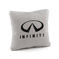 Подушка с лого Infinity флок, фото 1