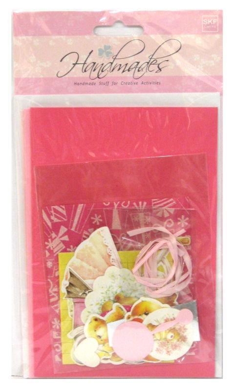 Набор открыток и украшений для скрапбукинга EnoGreeting SKF-001 3шт