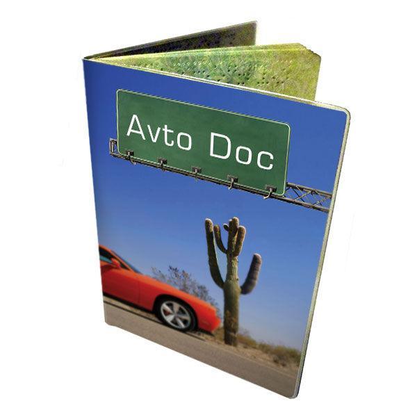 Обложка для автодокументов Devays ПВХ Аризона 6-15