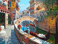 Картина раскраска по номерам на холсте 40*50см Babylon VP024 Сан-Марко