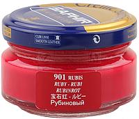 Увлажняющий крем для обуви Saphir Creme Surfine цвет рубиновый (901) 50 мл