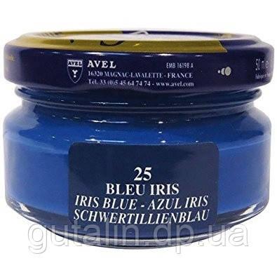 Увлажняющий крем для обуви Saphir Creme Surfine голубой ирис (25) 50 мл