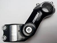 Вынос руля ZOOM 1 1/8, регулятор угла наклона, для руля 25.4 мм