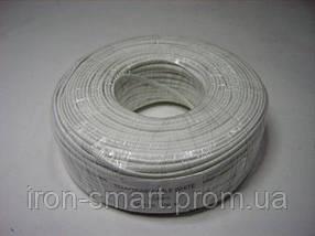 Телефонный кабель CCS 4х-жильный, 100 м, белый