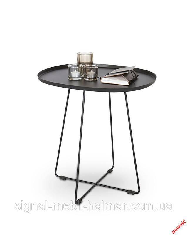 Стол TINA (черный) (Halmar)