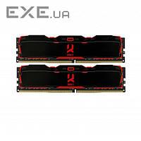Память GOODRAM 16 GB (2x8GB) DDR4 2800 MHz IRDM X Black (IR-X2800D464L16S/16GDC)