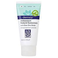 Натуральное минеральное солнцезащитное средство для лица-Natural Mineral Sunscreen SPF30 Face, 56 г