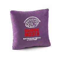 Подушка подарочная коллегам и друзьям «Вынос мозга» флок