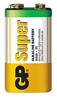 Батарейка GP 1шт 1604AEB-5S1 щелочная 6LF22, 6LR61 (крона)