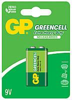 Батарейка GP 1шт 1604GLF-2U1 солевая 6F22 (крона)