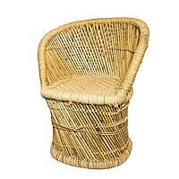 Кресло плетеное из бамбука