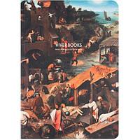 Скетчбук HIVER BOOKS NETHERLANDISH PROVERBS: A5 (L)