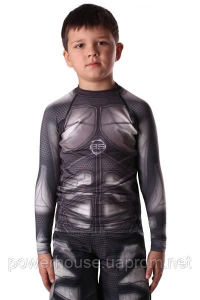 Детский рашгард Berserk MMA Kids IRON black