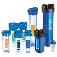 Система очистки воды Насосы плюс оборудование SF10-3, тройная фильтрация, прозрачные