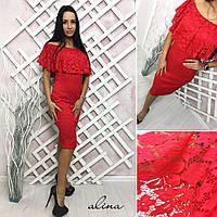 Женское гипюровое платье tez30032586