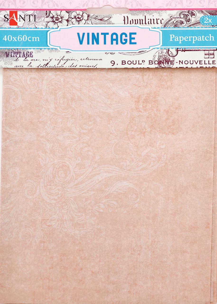 Декупажная карта-бумага 40*60см Santi 2л. Vintage 952475