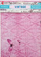 Декупажная карта-бумага 40*60см Santi 2л. Vintage 952477