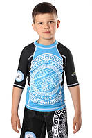Детский рашгард Berserk MMA Kidsfor pankration APPROVED WPC blue