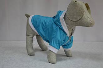 Жилет-курточка Сильвер с капюшоном для собак