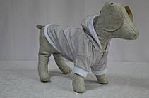 Жилет-курточка Сильвер с капюшоном для собак, фото 3