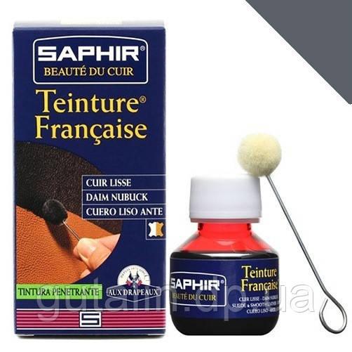 Краситель для гладкой кожи Saphir Teinture Francaise 50 мл цвет средний табак(35)
