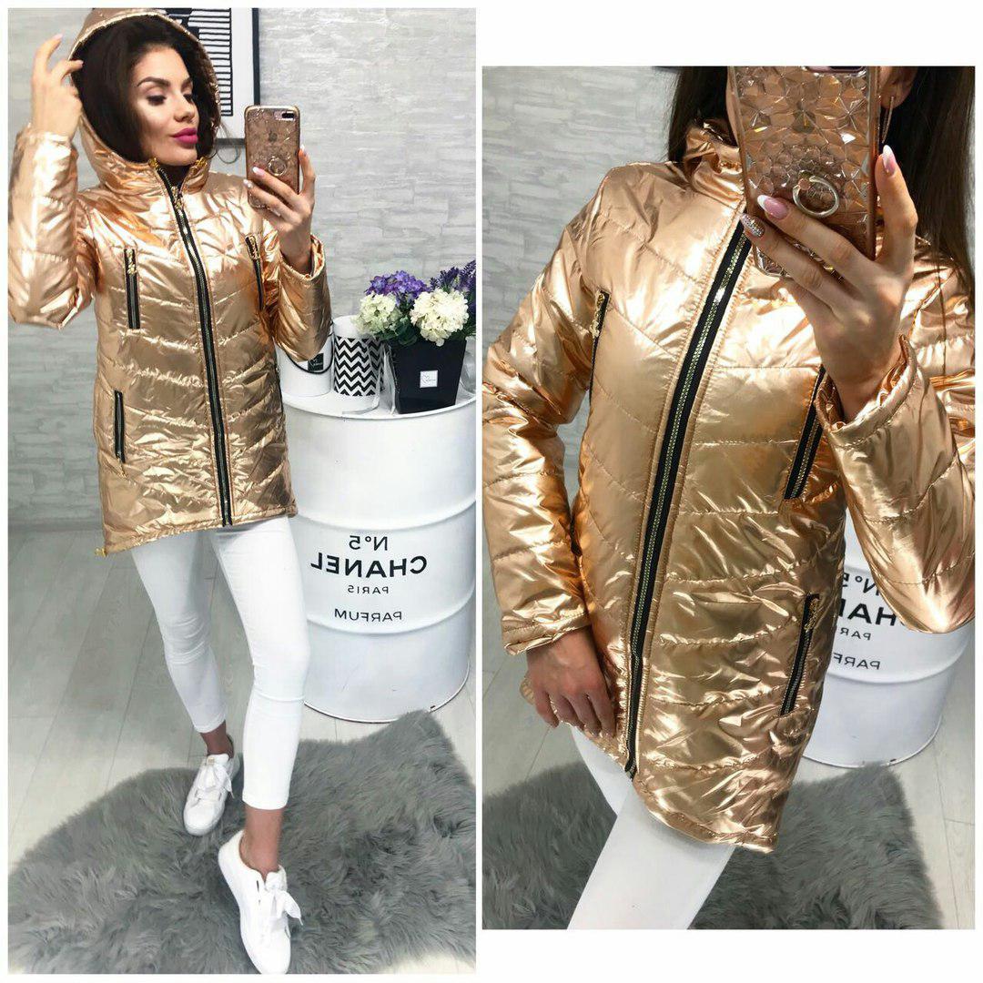 Куртка весна/осень 2018, модель 300, цвет - бронза
