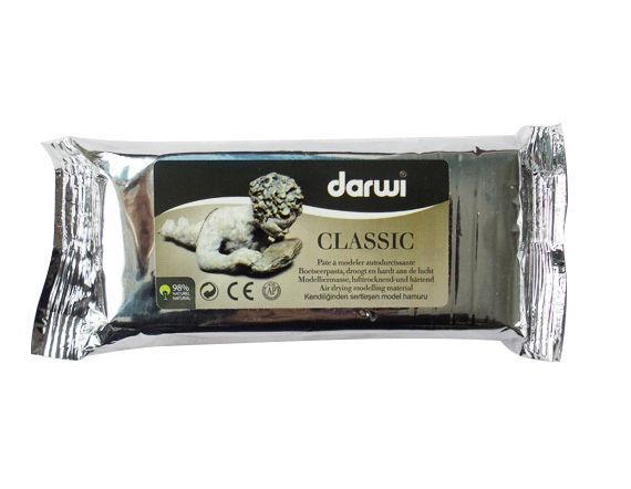 Самозатвердевающая масса DARWI 250гр Белая DR-0800250000