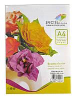 Бумага цветная для принтера  Микс Насыщенная А4 160г/м 100л. SPECTRA color Радуга 5*20л.