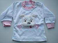 Яркая кофточка на девочку Dog розовая, фото 1