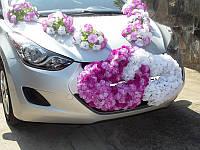 Украшение для свадебной машины 17