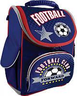 Рюкзак (ранец) 1 Вересня школьный каркасный 552151 Football H-11 34*26*14см
