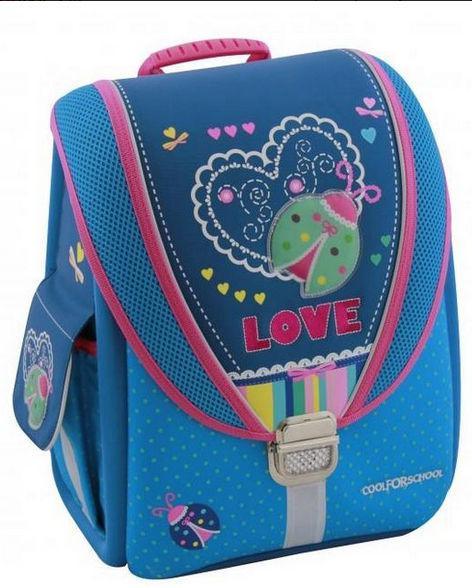 Рюкзак (ранец) школьный каркасный Cool For School мод. 710 CF85603 Ladybug
