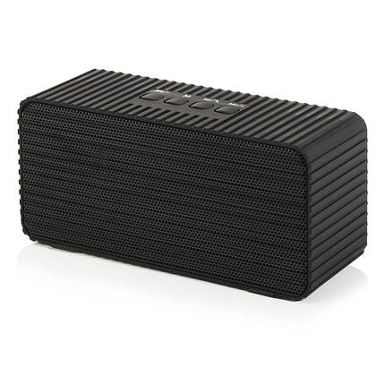 Портативная колонка BT555 (HDY-005)(bluetooth, Micro SD, USB, FM) black-Акционная цена!, фото 2