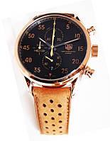 Наручные мужские кварцевые часы TAG Heuer Spacex Black