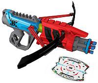 BOOMco Бластер-арбалет со стрелами и мишенью Slambow Blaster