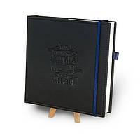 """Кук-бук для записи рецептов """"Книга кулинарных секретов совместно с Saveurs"""" Черный с кобальтом"""