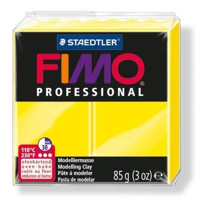 Глина полимерная FIMO Professional 85г желтая 8004-100